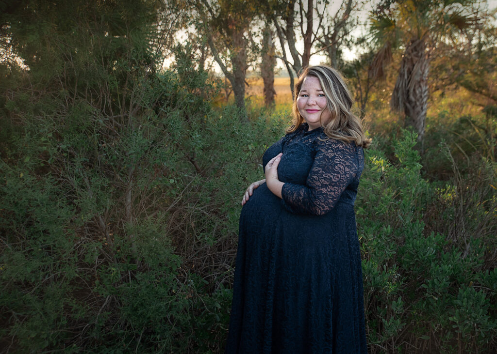 charleston maternity shoot